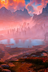 Horizon Zero Dawn Game Nature