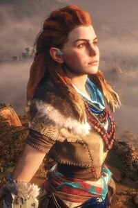 640x1136 Horizon Zero Dawn Game