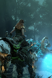 Horizon Zero Dawn Video Game 2019 4k