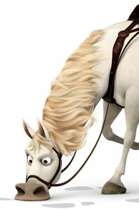 Horse In Tangled