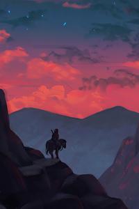 2160x3840 Horse Rider Adventure 4k