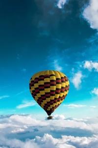 640x1136 Hot Air Balloon 5k