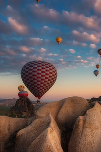 1080x2160 Hot Air Balloon Photography