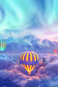 Hot Air Balloons Creative Photography