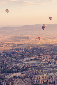 2160x3840 Hot Air Balloons Open Sky 4k