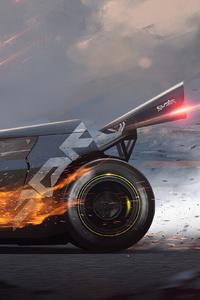 1280x2120 Hot Rod Speed Motors 4k