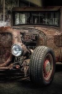 1080x1920 HOT Rod Vintage