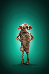 240x320 House Elf Dobby In Harry Potter And Fantastic Beasts 2 4k