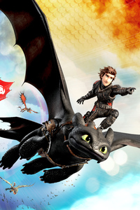 How To Train Your Dragon Into The Hidden World 4k
