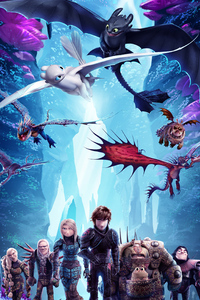 How To Train Your Dragon The Hidden World New Poster