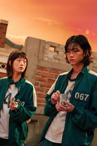 640x960 HoYeon Jung And Kang Sae Squid Game 5k