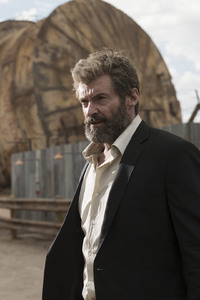 Hugh Jackman In Logan Movie
