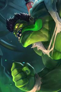1280x2120 Hulk 4k 2020