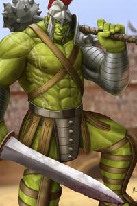 Hulk 4k Art