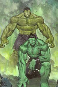 480x800 Hulk 4k Artnew