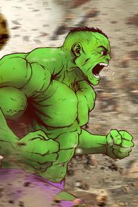 Hulk 4k Arts