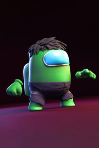 1125x2436 Hulk Among Us 5k
