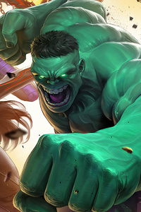 Hulk And His Friends Marvel Super War