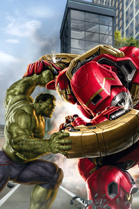 Hulk And Hulkbuster