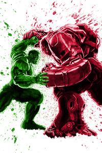 Hulk And Iron Hulkbuster