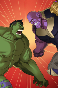 Hulk And Thanos
