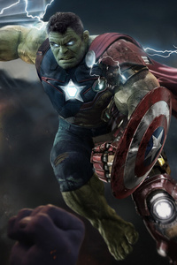 Hulk Avengers Endgame Artwork