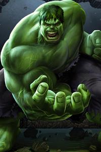 320x480 Hulk Coming