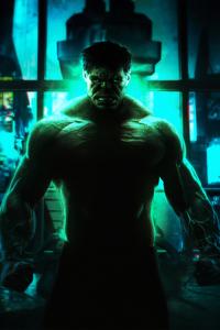 1080x2280 Hulk Cyberpunk