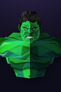 Hulk Facets Art