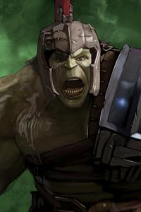 Hulk Gladiator Artwork