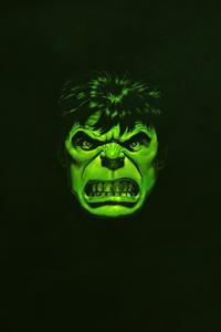 1080x1920 Hulk Green Minimal 4k