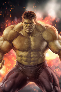 Hulk HD Artwork