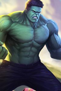 Hulk In Avengers Infinity War Artwork