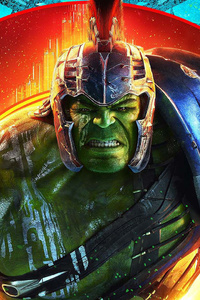 320x480 Hulk In Thor Ragnarok 2017