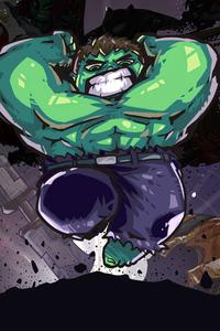 320x480 Hulk Little Art
