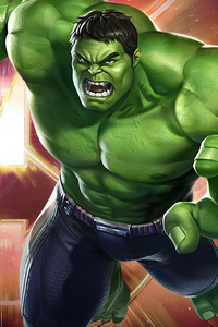 640x1136 Hulk Marvel Super War