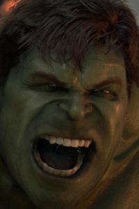 1080x2160 Hulk Marvels Avengers 4k