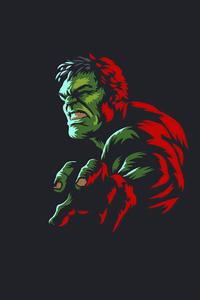 1440x2560 Hulk Minimal Art 4k