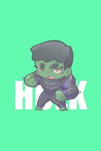 1440x2560 Hulk Minimal Chibbi 4k