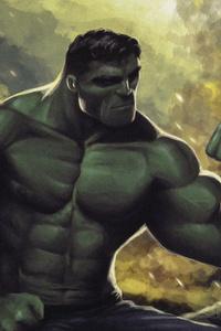 Hulk Sketch Art