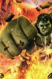 720x1280 Hulk Smash