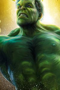 1440x2560 Hulk Smash 4k