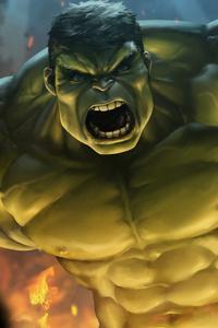 Hulk Smash Art