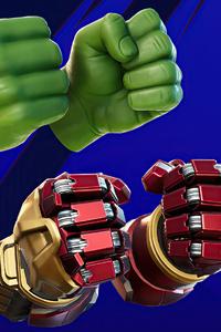 1080x2280 Hulk Smash Fortnite
