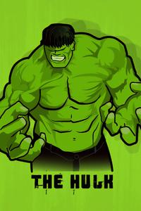 1080x1920 Hulk Smash Minimal