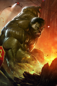 Hulk Smash New Artwork
