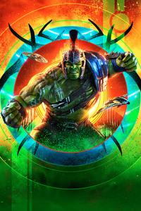 240x400 Hulk Thor Ragnarok 12k