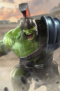 Hulk Thor Ragnarok Contest Of Champions