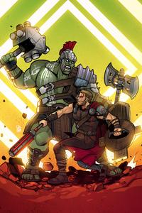 Hulk Vs Thor Art 4k