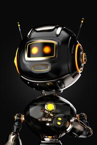 320x568 Humanoid Robot 4k